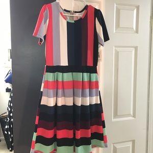 NWT Lularoe Amelia dress. Large